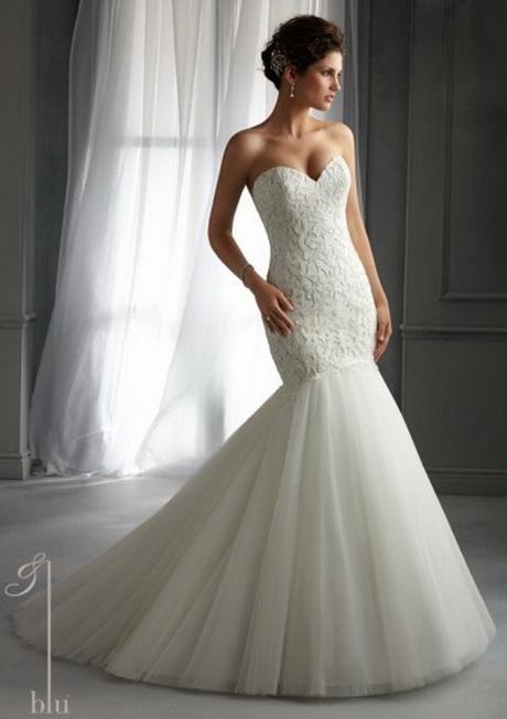 Vestito da sposa a sirena; Abito …