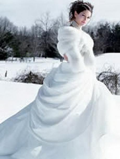 Matrimonio Natalizio Abito : Abiti da sposa invernali con pelliccia