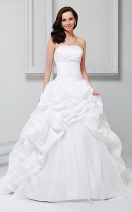 Immagine 1 – abito da sposa senza maniche ball gown pomposo in
