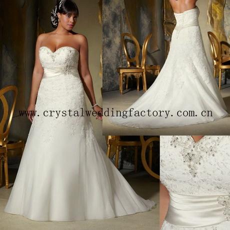 xl xxl xxl xxl custom fatto plus size abito da sposa cwfaw4870