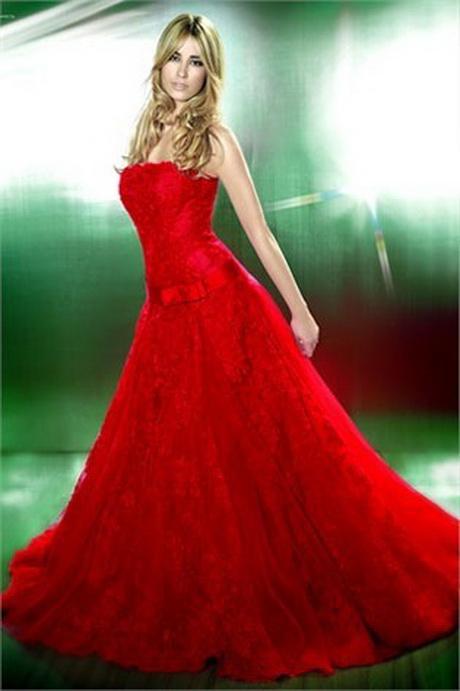 Abito da sposa rosso …