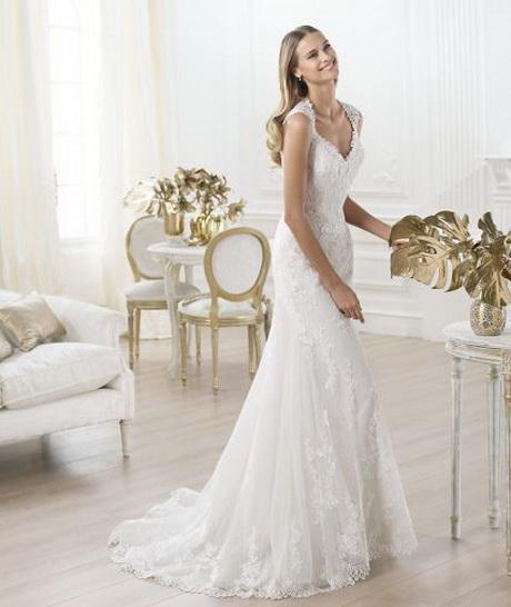 Abiti da sposa in pizzo Collezione Pronovias 2014. Foto: www.pronovias ...