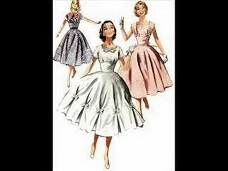 Moda anni 40 50 for Storia della moda anni 50