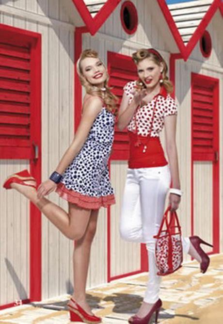 Vestiti anni 50 pin up for Storia della moda anni 50
