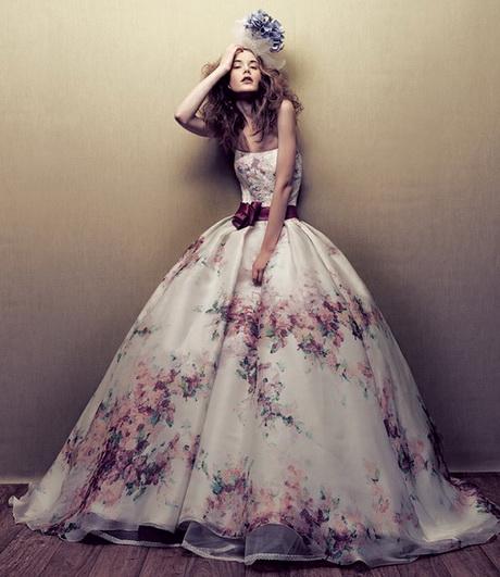 più abiti da sposa colorati abiti sposa colorati abiti da sposa