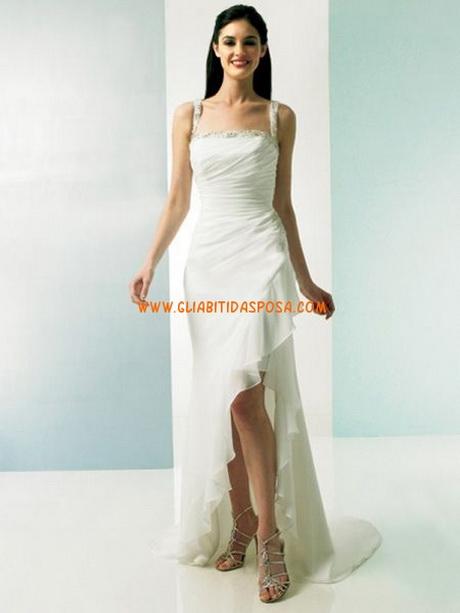 Vestiti da sposa corti davanti