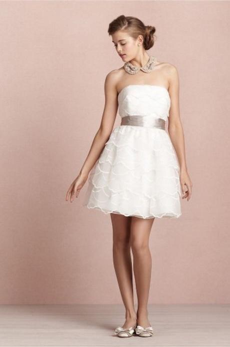 abito da sposa 2013 corto con fascia