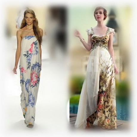 vestiti lunghi a fiori