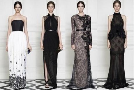 Vestiti lunghi neri for Stile minimal vestiti