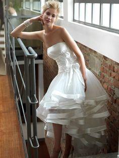 abiti da sposa corti colorati – Cerca con Google