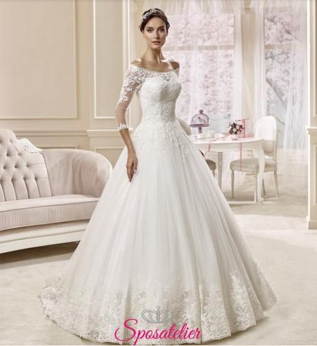 Vestiti da sposa 2017 principessa