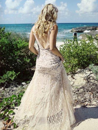 Matrimonio Spiaggia Vestito : Abiti da sposa mare