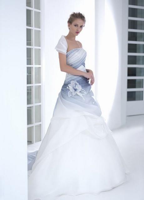 Vestito Matrimonio Azzurro : Abito da sposa azzurro