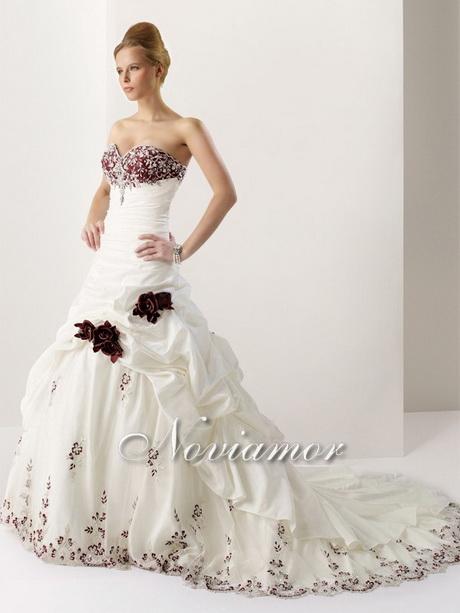 un tipo di abiti da sposa a sirena di colore rosso un vestito da sposa ...