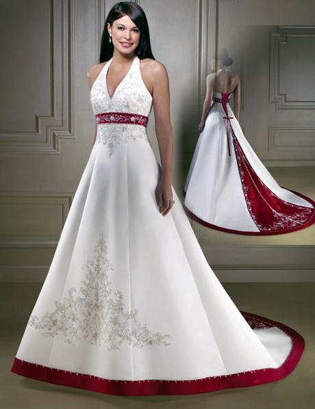Abiti da sposa con rosso - Abiti da sposa dive e dame ...