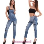 Salopette in jeans donna