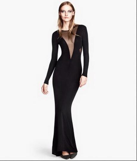 Vestito da donna abito cerimonia elegante lungo nero in