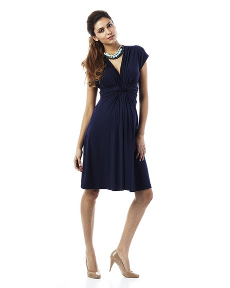 Vestito elegante donna blu
