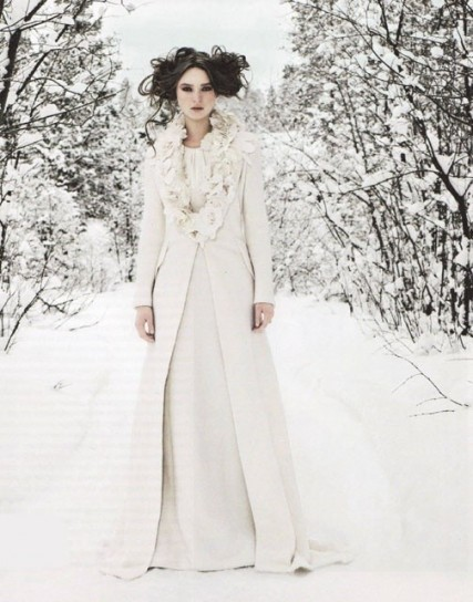 Abiti da sposa matrimonio civile inverno